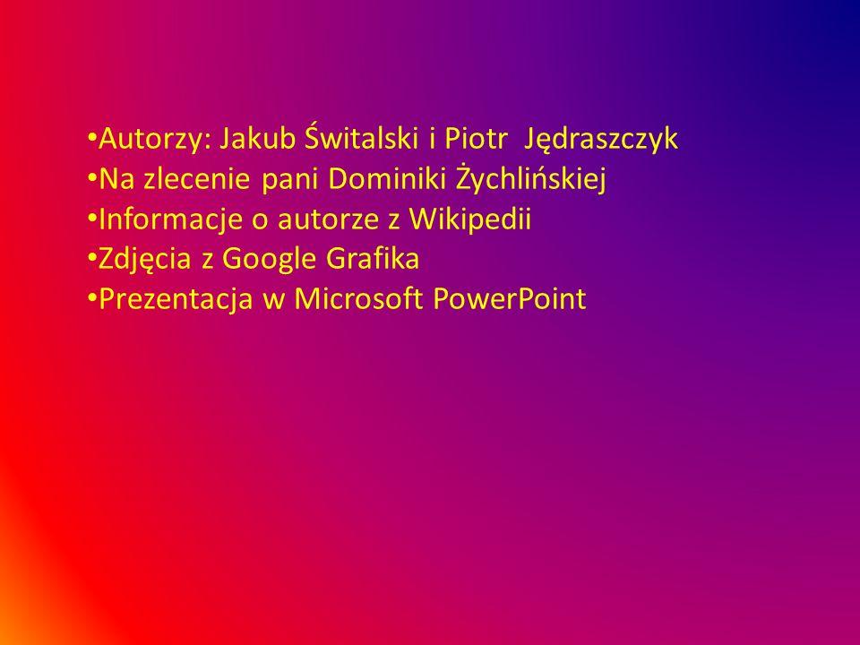 Autorzy: Jakub Świtalski i Piotr Jędraszczyk