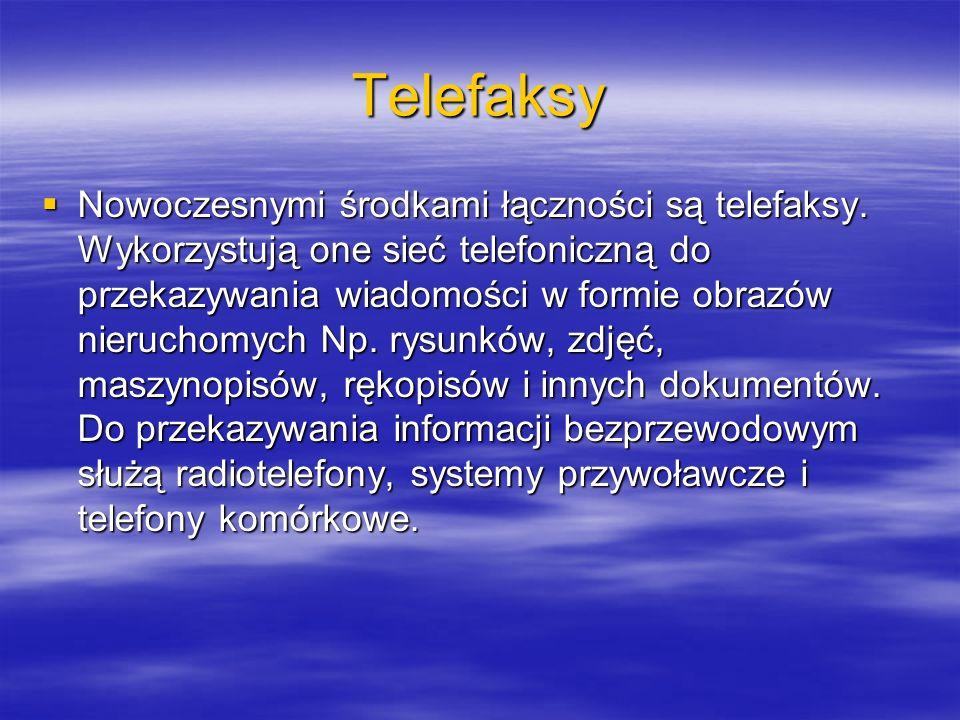 Telefaksy