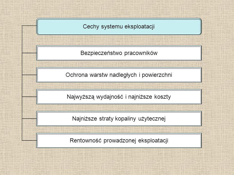 Cechy systemu eksploatacji