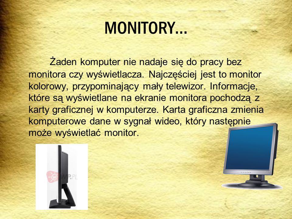 MONITORY…