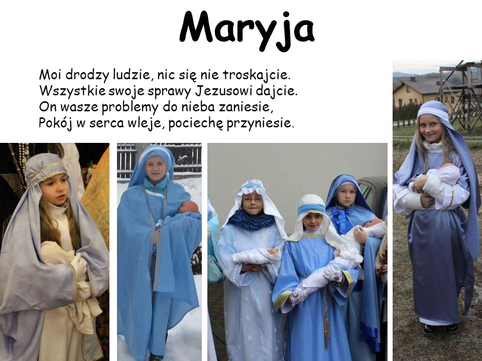 Maryja Moi drodzy ludzie, nic się nie troskajcie.