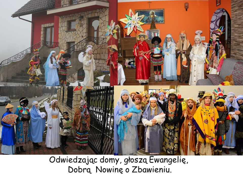 Odwiedzając domy, głoszą Ewangelię, Dobrą Nowinę o Zbawieniu.