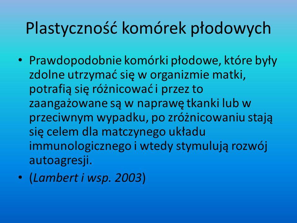 Plastyczność komórek płodowych