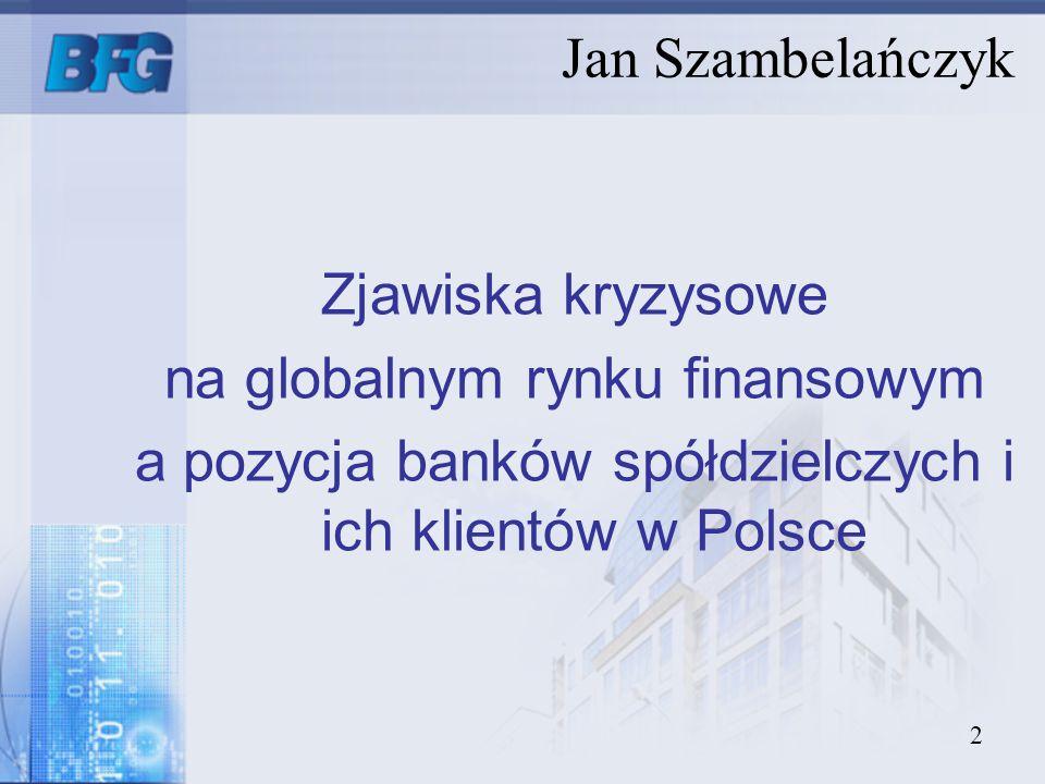 na globalnym rynku finansowym