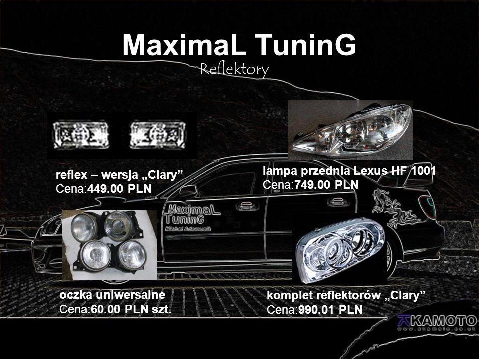 MaximaL TuninG Reflektory lampa przednia Lexus HF 1001 Cena:749.00 PLN