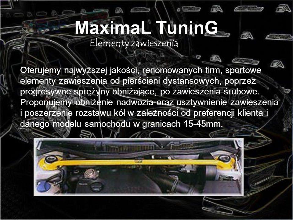 MaximaL TuninG Elementy zawieszenia