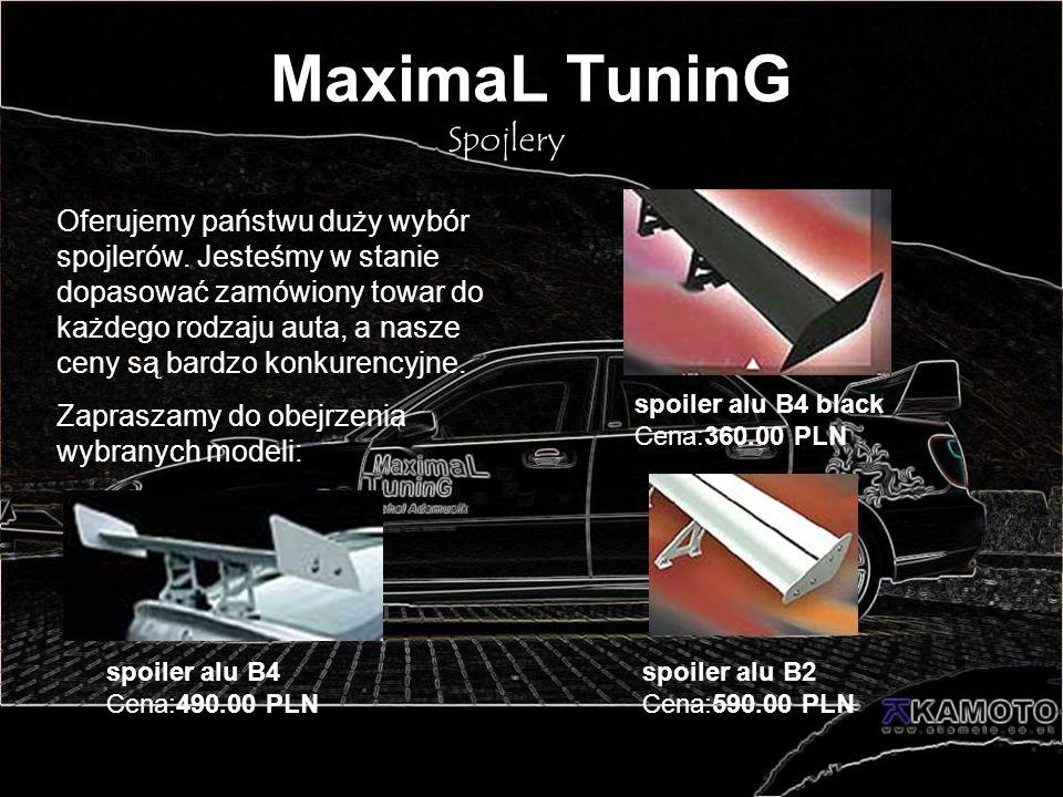 MaximaL TuninG Spojlery