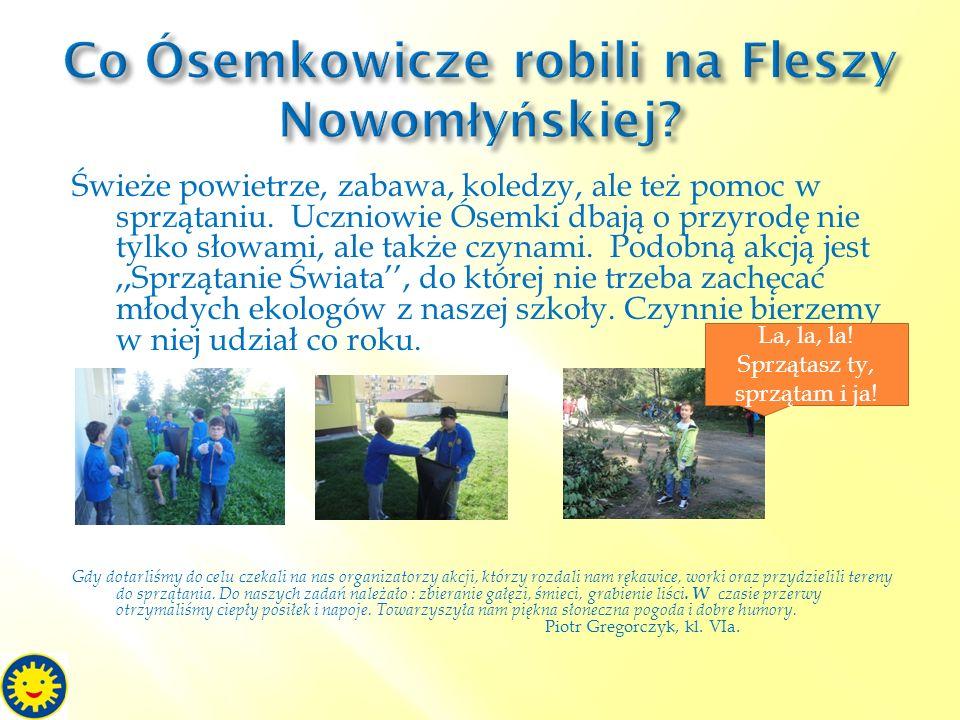 Co Ósemkowicze robili na Fleszy Nowomłyńskiej