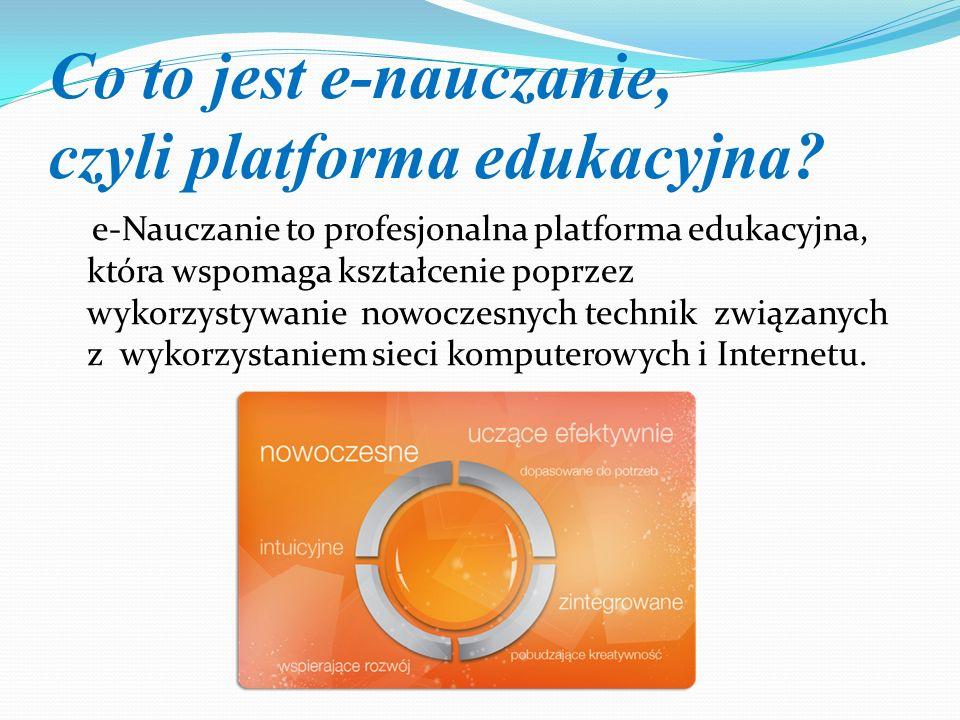 Co to jest e-nauczanie, czyli platforma edukacyjna