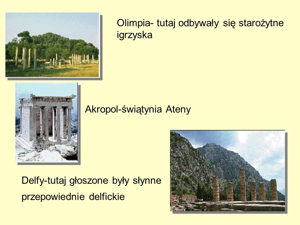 Olimpia- tutaj odbywały się starożytne igrzyska