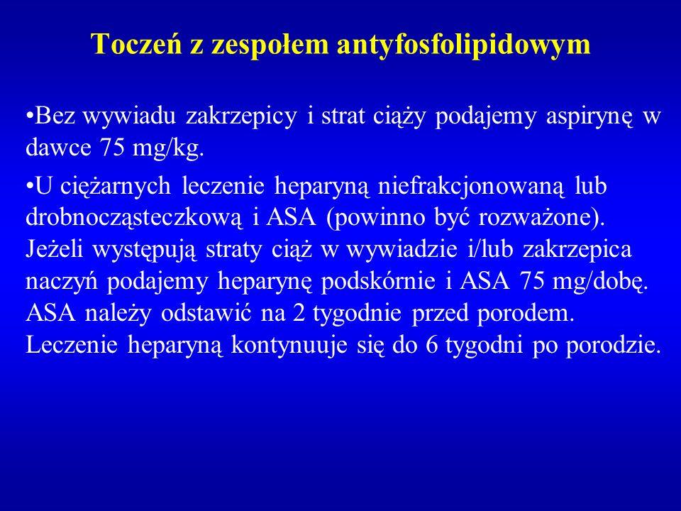 Toczeń z zespołem antyfosfolipidowym