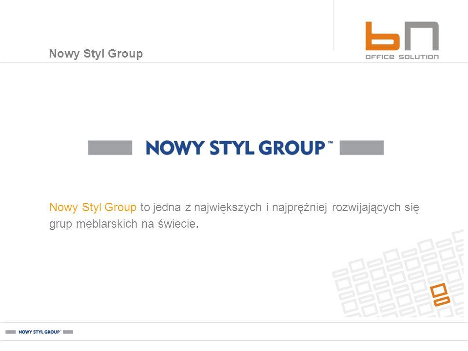 Nowy Styl Group Nowy Styl Group to jedna z największych i najprężniej rozwijających się grup meblarskich na świecie.