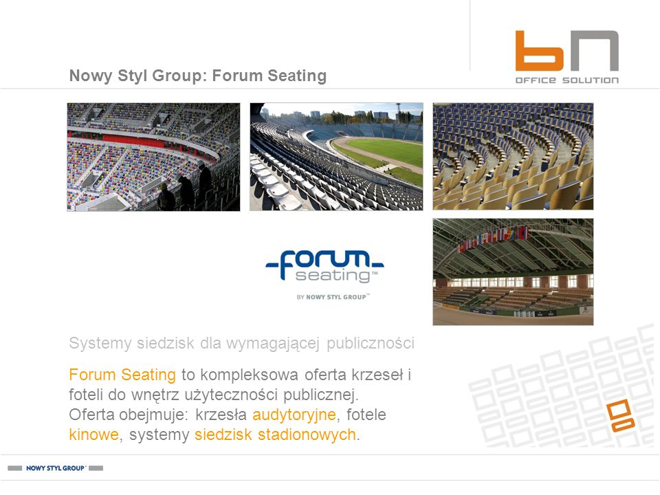 Nowy Styl Group: Forum Seating