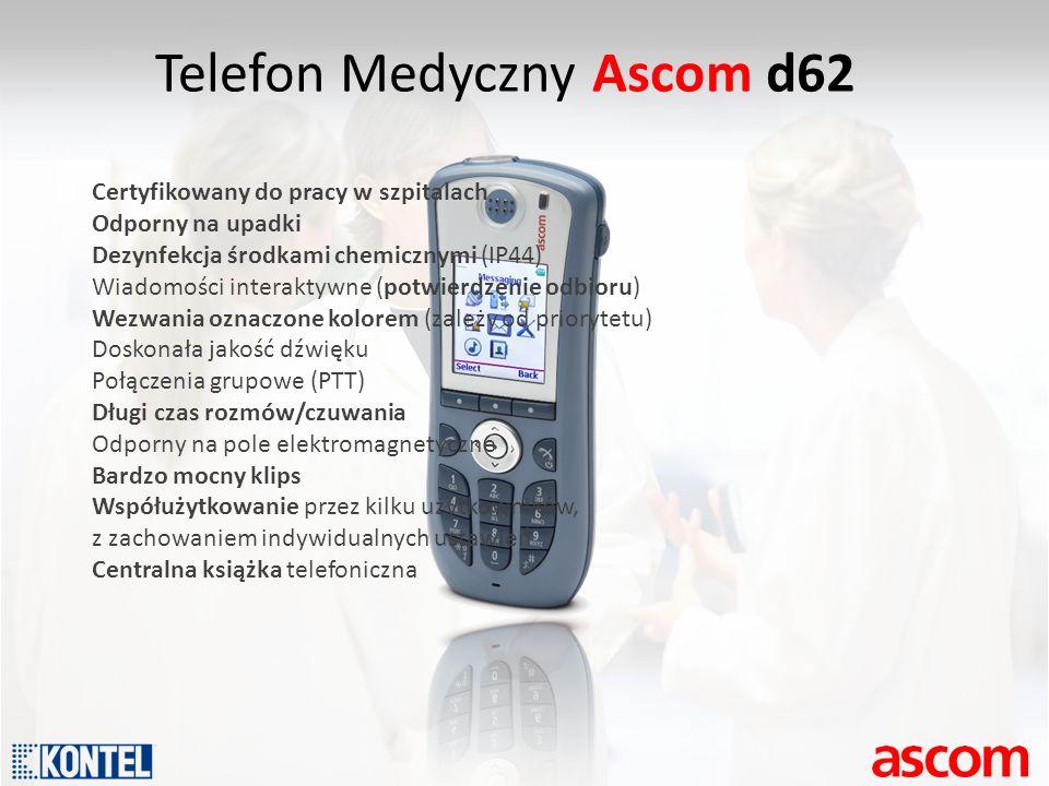 Telefon Medyczny Ascom d62