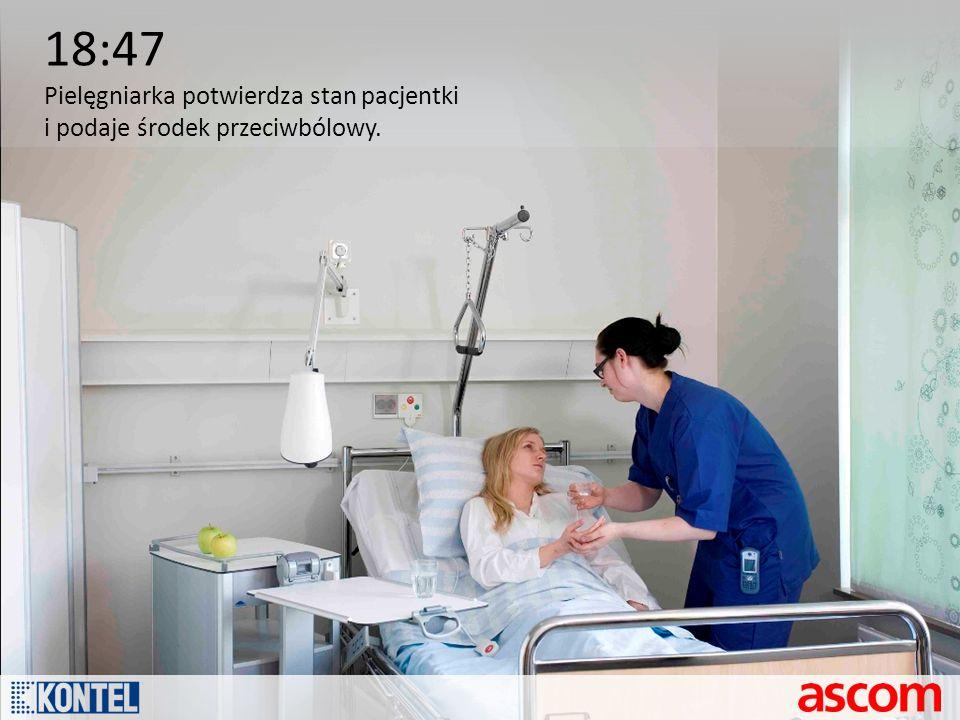 18:47 Pielęgniarka potwierdza stan pacjentki