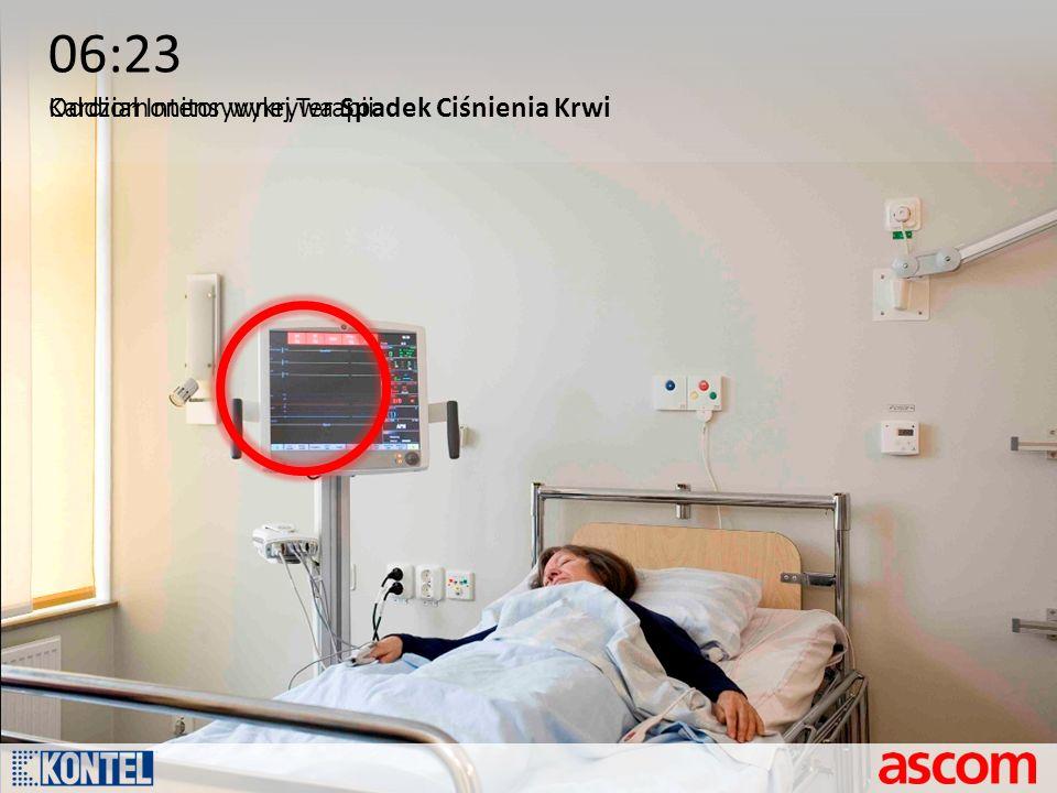06:23 Kardiomonitor wykrywa Spadek Ciśnienia Krwi