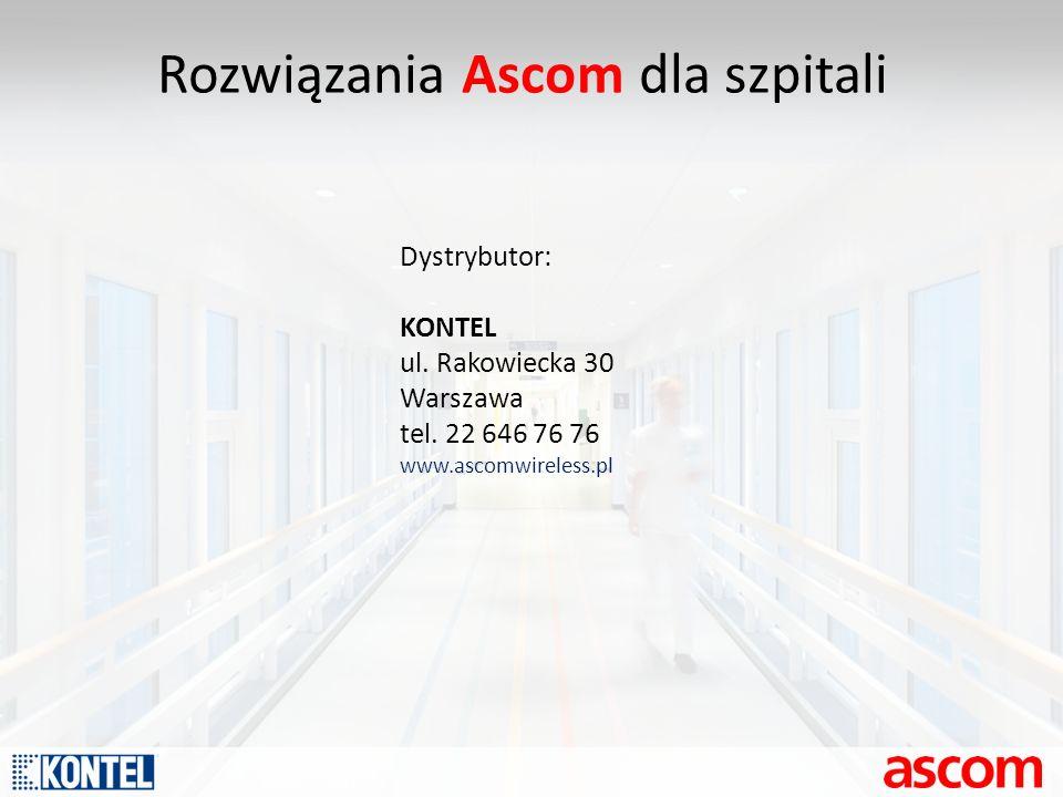 Rozwiązania Ascom dla szpitali