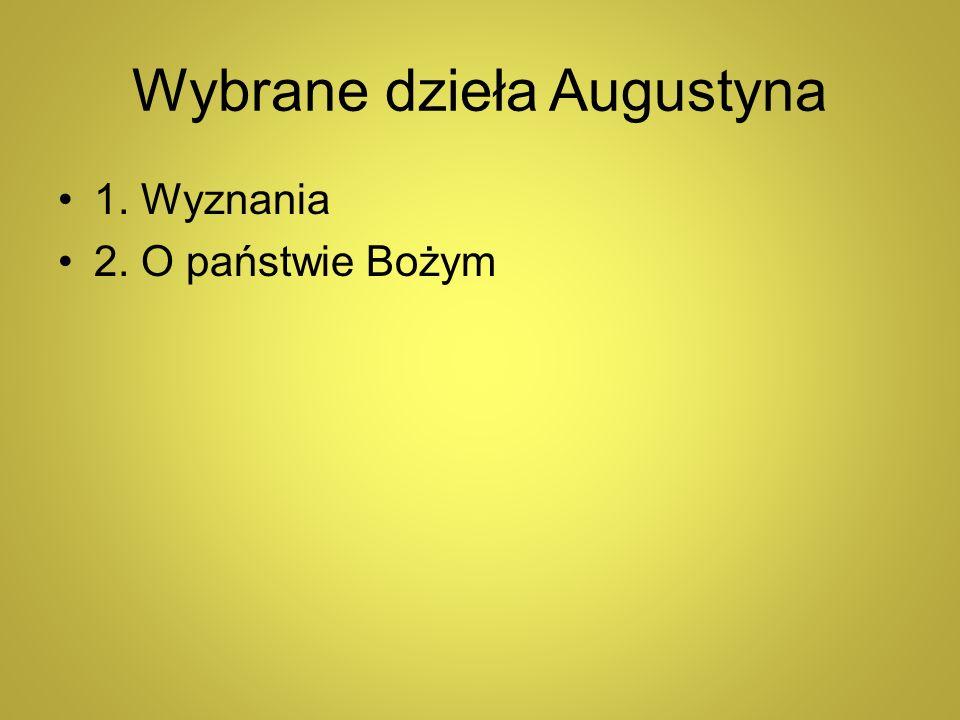 Wybrane dzieła Augustyna