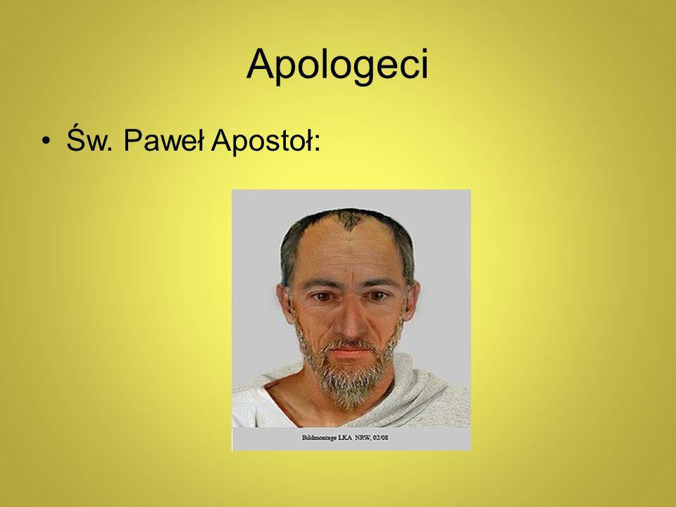 Apologeci Św. Paweł Apostoł: