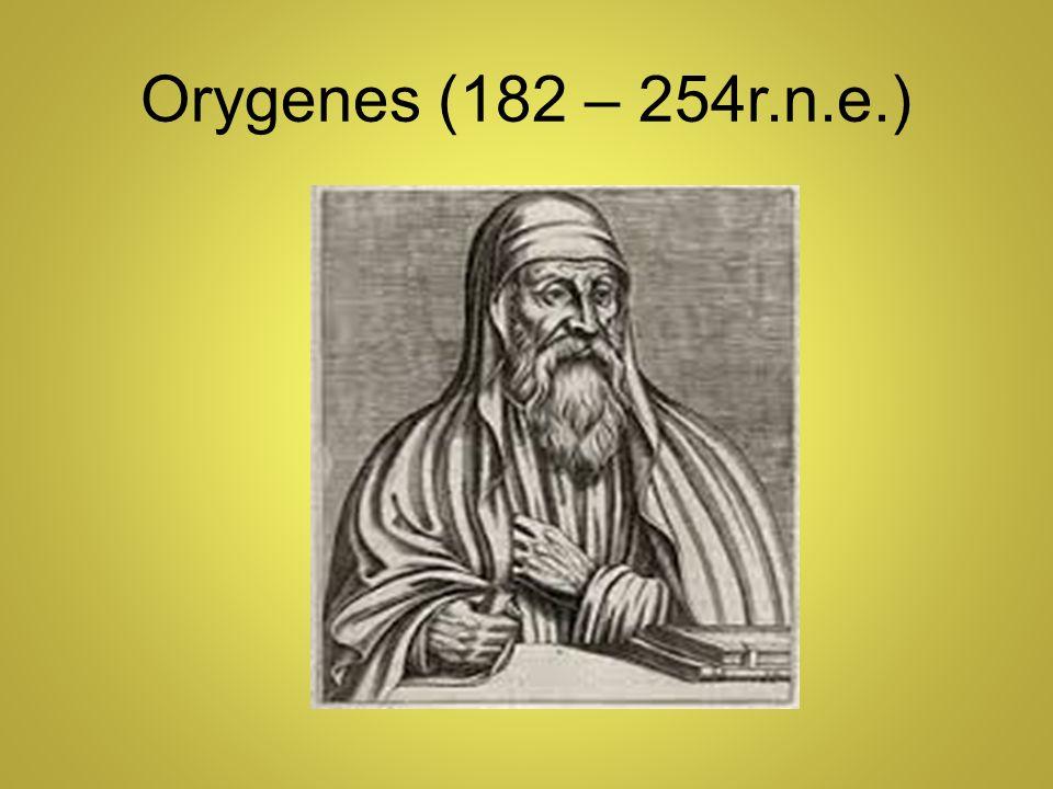 Orygenes (182 – 254r.n.e.)