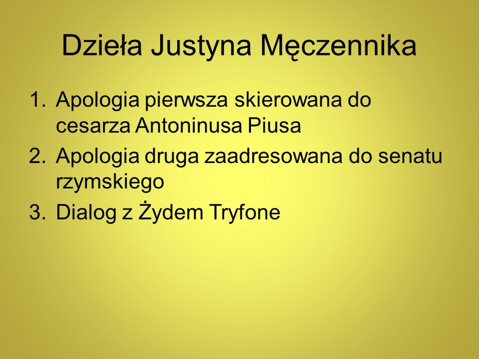Dzieła Justyna Męczennika