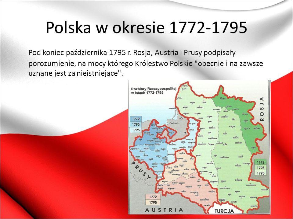 Polska w okresie 1772-1795
