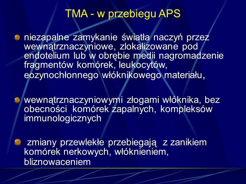 TMA - w przebiegu APS