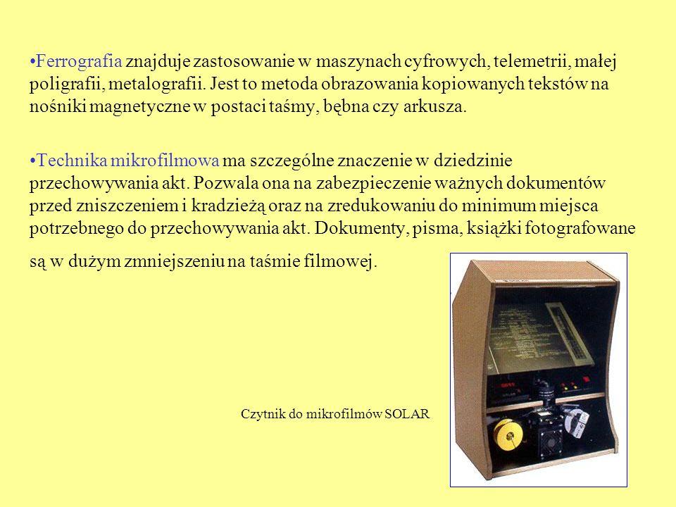 Czytnik do mikrofilmów SOLAR