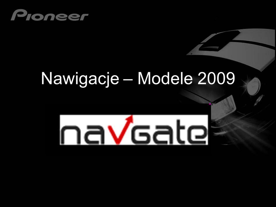 Nawigacje – Modele 2009