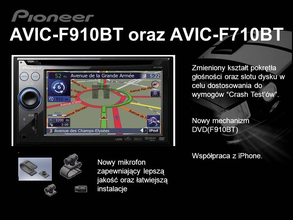 AVIC-F910BT oraz AVIC-F710BT