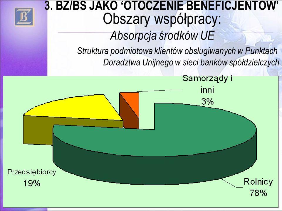 Obszary współpracy: Absorpcja środków UE