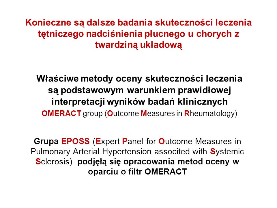 OMERACT group (Outcome Measures in Rheumatology)