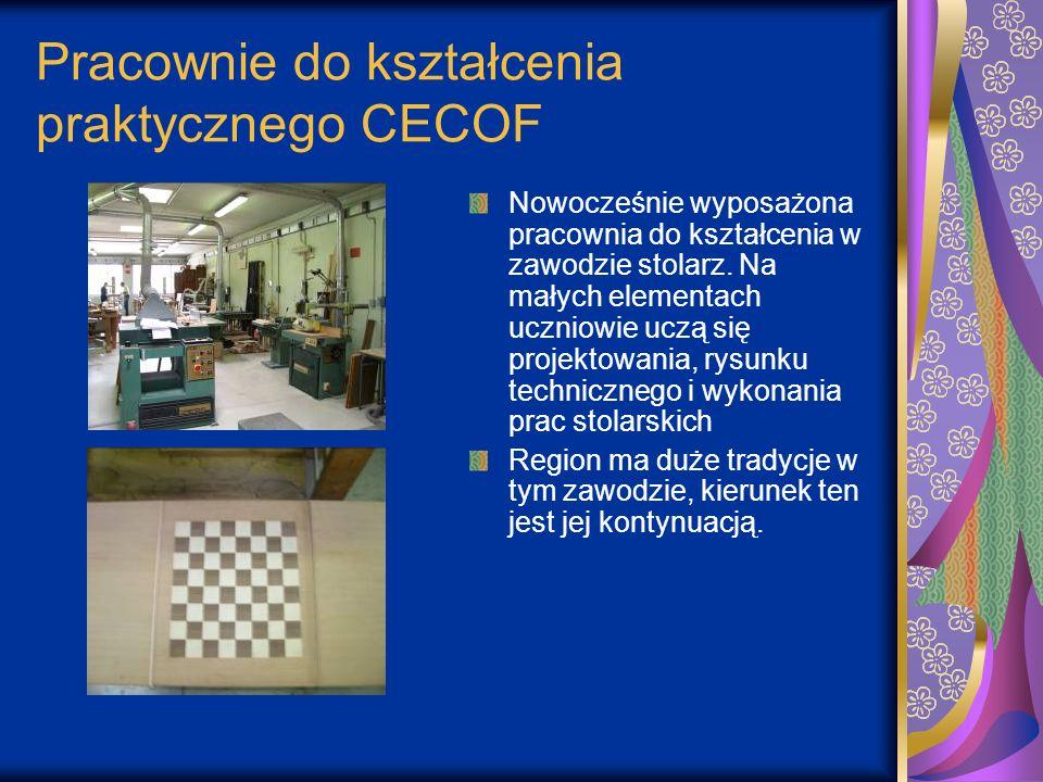 Pracownie do kształcenia praktycznego CECOF