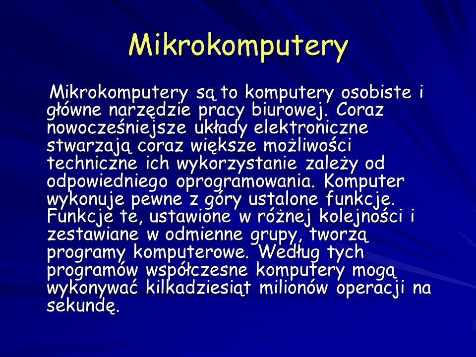 Mikrokomputery