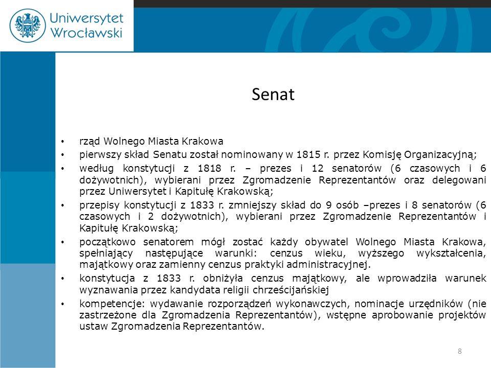 Senat rząd Wolnego Miasta Krakowa