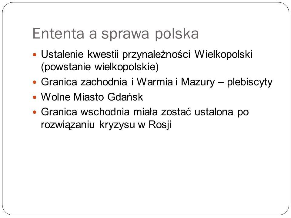 Ententa a sprawa polska