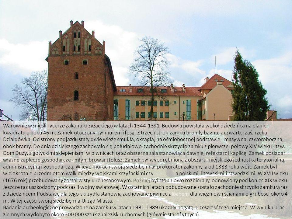 Zamek w Działdowie http://www.zamkipolskie.com/dzial/002.jpg