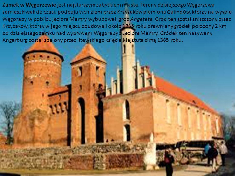 Zamek w Węgorzewie jest najstarszym zabytkiem miasta