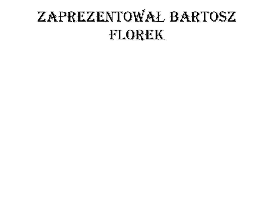 zaprezentowaŁ Bartosz florek