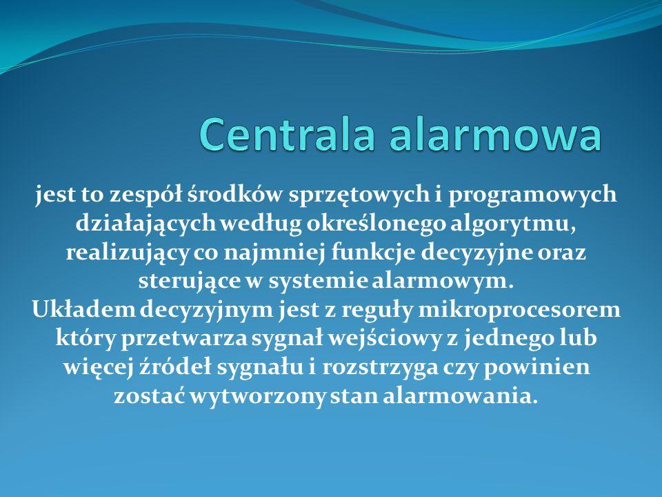 Centrala alarmowa