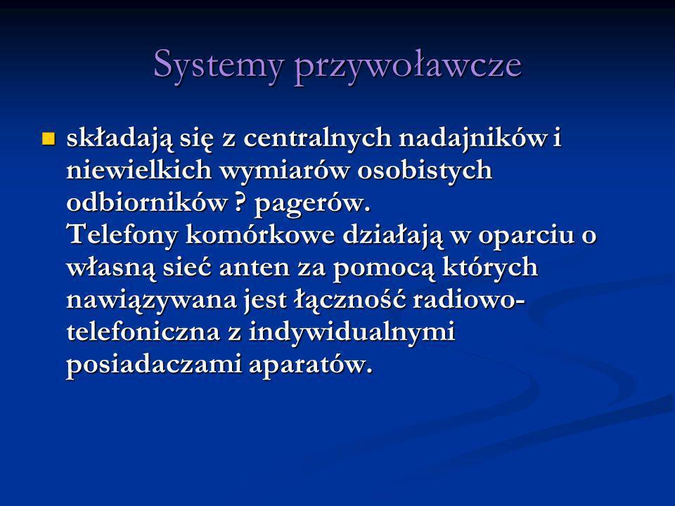 Systemy przywoławcze
