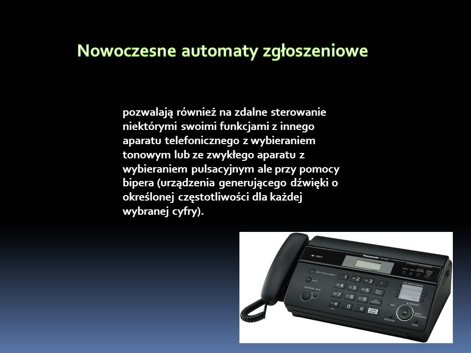 Nowoczesne automaty zgłoszeniowe