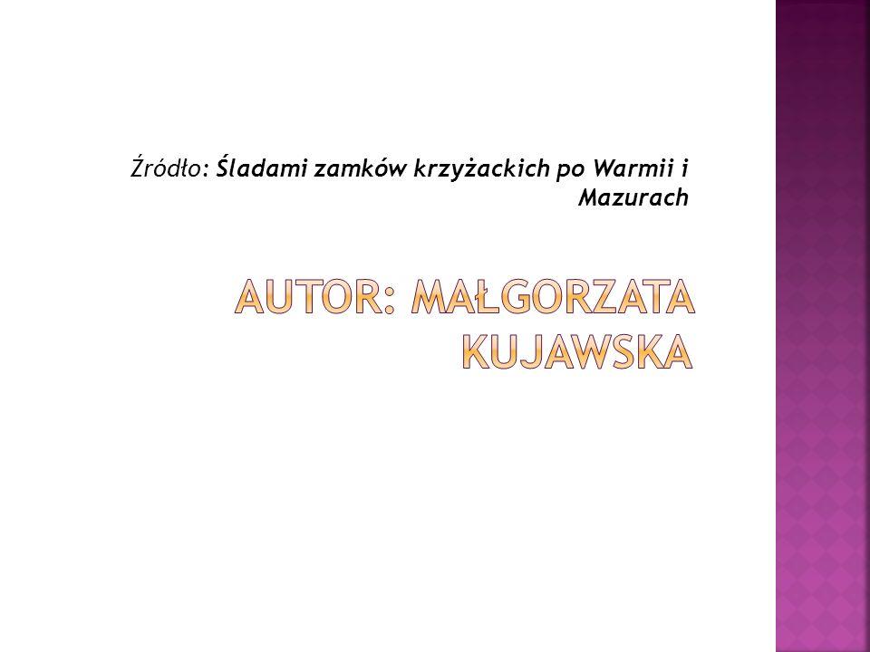 Autor: Małgorzata Kujawska
