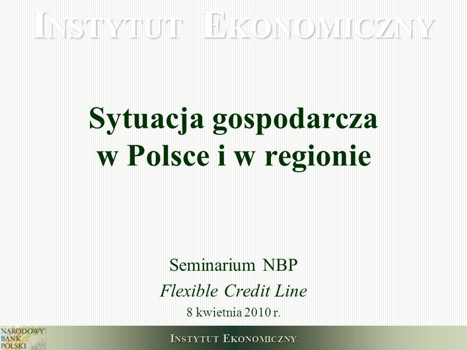 Sytuacja gospodarcza w Polsce i w regionie