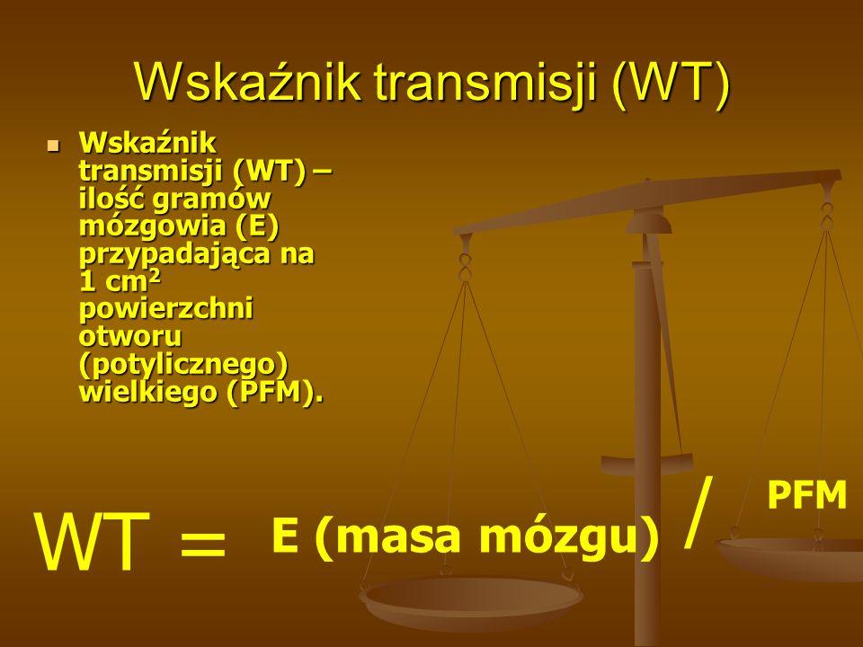 Wskaźnik transmisji (WT)