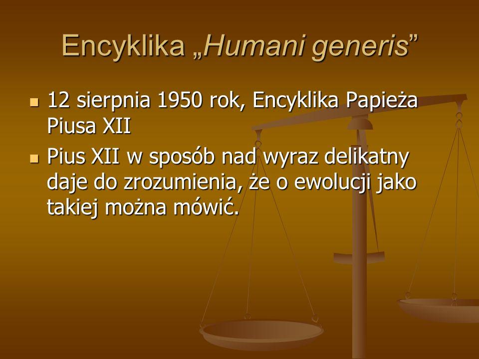 "Encyklika ""Humani generis"