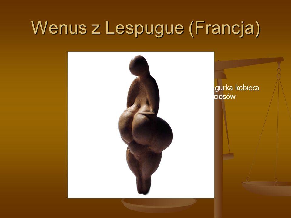 Wenus z Lespugue (Francja)