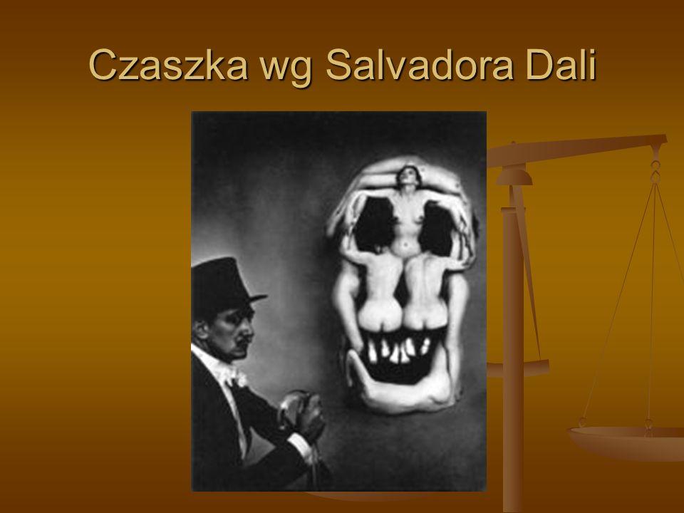 Czaszka wg Salvadora Dali