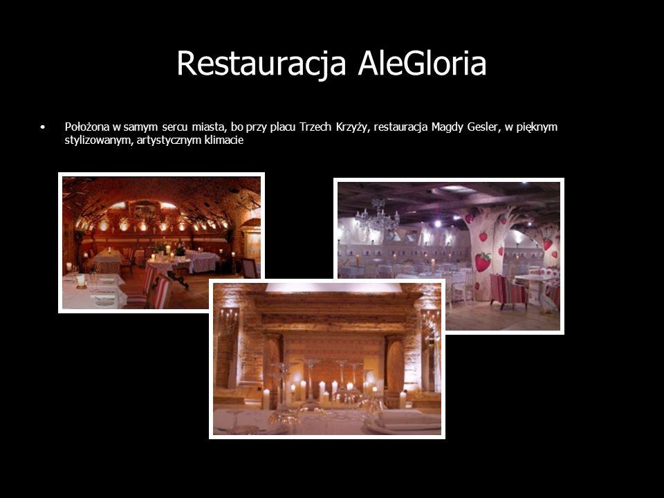 Restauracja AleGloria