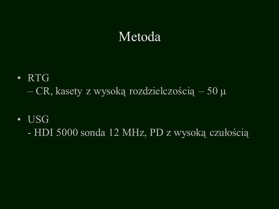 Metoda RTG – CR, kasety z wysoką rozdzielczością – 50 μ